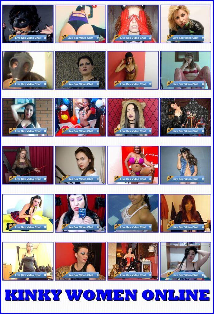 kinky webcams, live kink